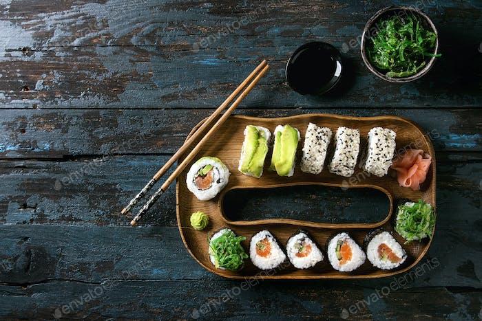Thumbnail for Sushi rolls set