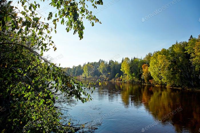 River Gauja, Latvia