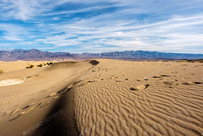 Death Valley National Park, Mesquite dunes