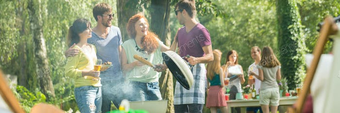 Barbecue im Park