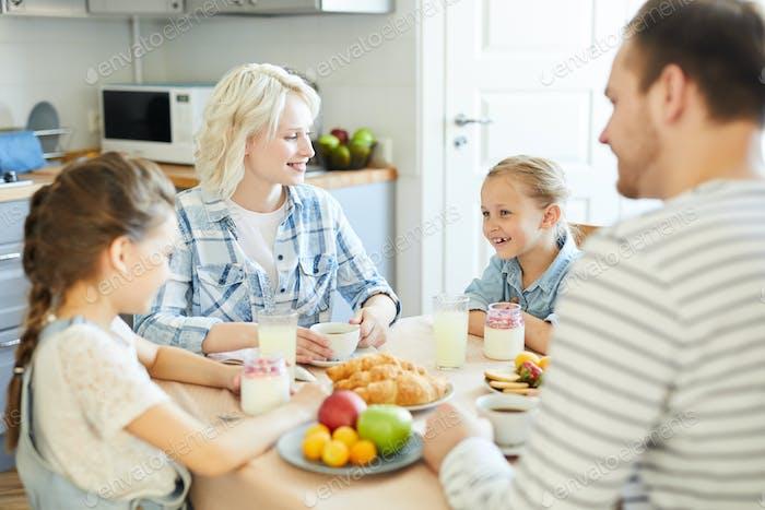 Family by breakfast