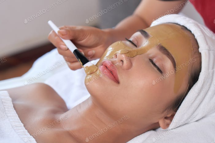 Receiving Cosmetological Procedure