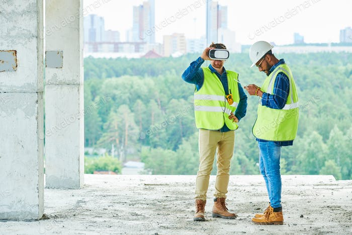 VR Simulation on Construction Site