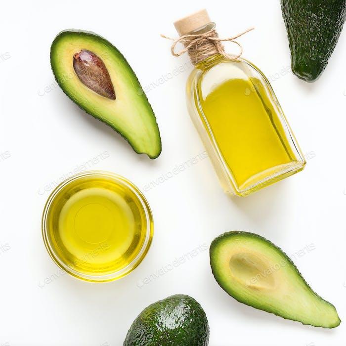 Vegetarian oils concept