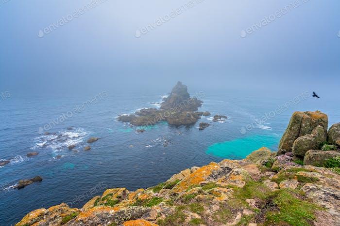Coastal landscape of the Lands End