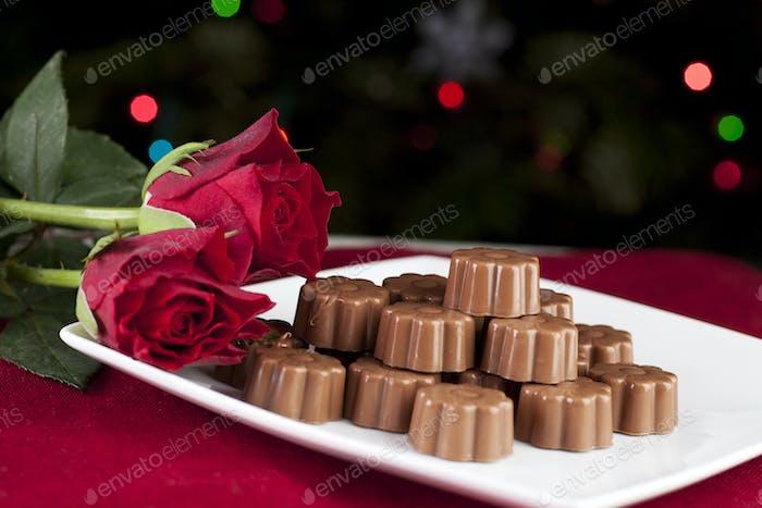 Choclolates and Roses