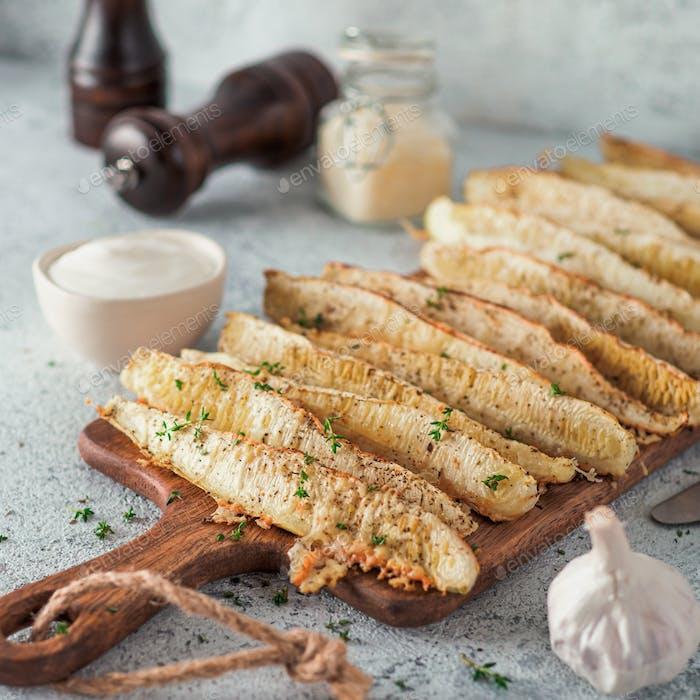 Baked Parmesan Garlic Zucchini