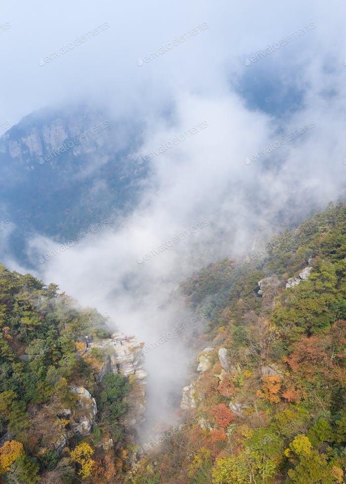 lushan im Herbst