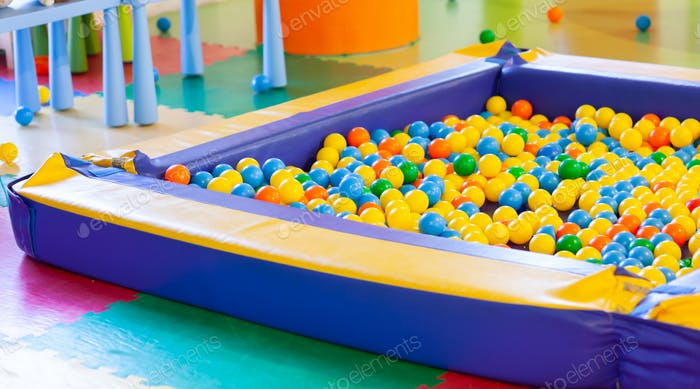 Plastic pool ball for kids