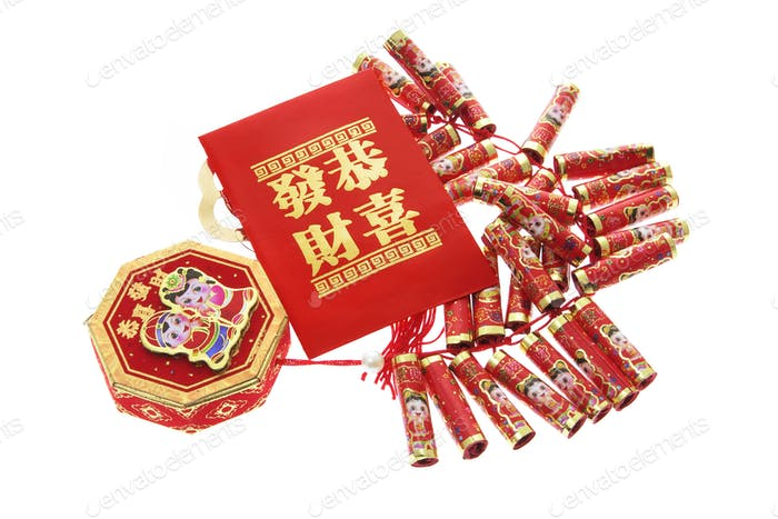 Fire Crackers and Red Packet