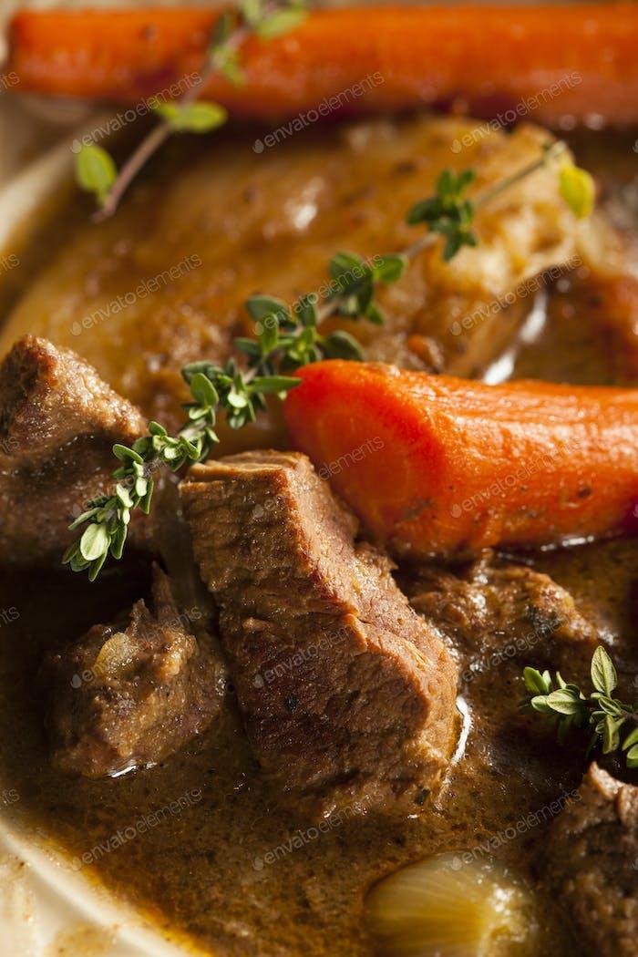 Hausgemachter Irish Beef Eintopf
