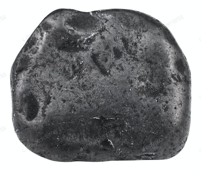 Trommelschungit Mineralstein isoliert