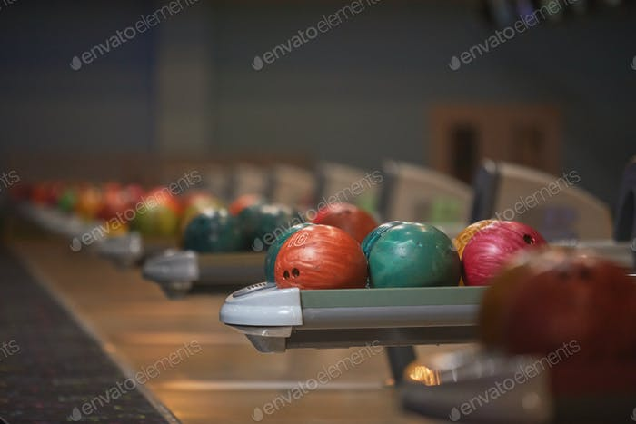 Bowling Alley Background