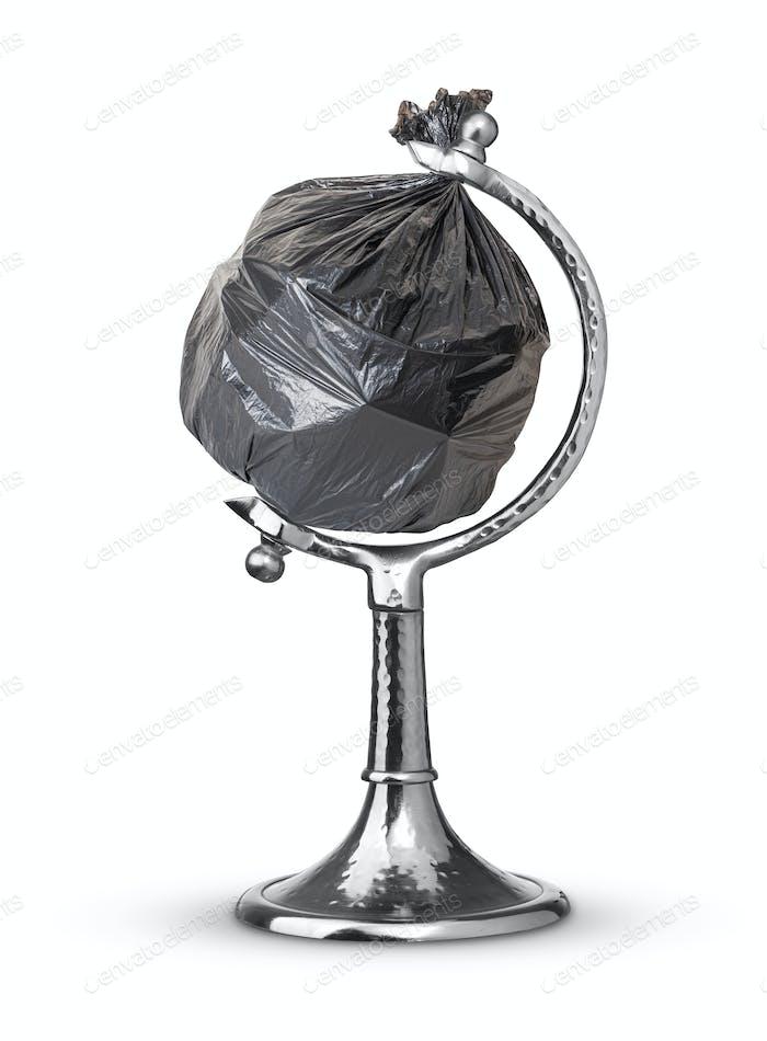 trash bag globe