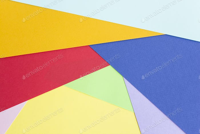 Colorful Paper as Background