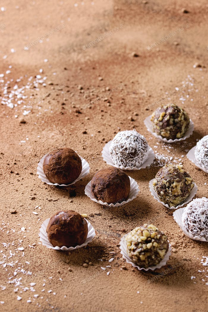 Thumbnail for Handmade chocolate truffles