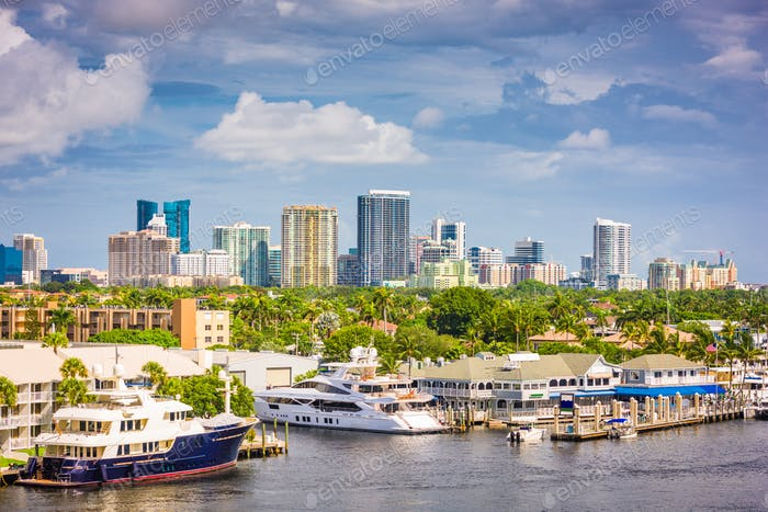 Fort Lauderdale, Florida, USA skyline