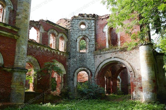 Shabby ruins