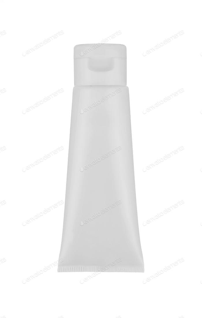 Creme-Tube isoliert auf weiß