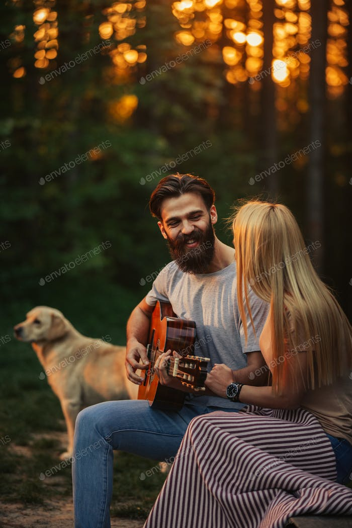 Music is the key to her heart