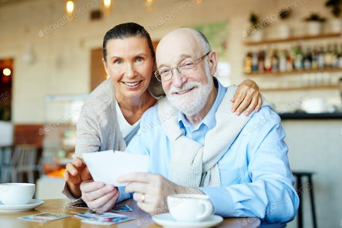 Affectionate grandparents