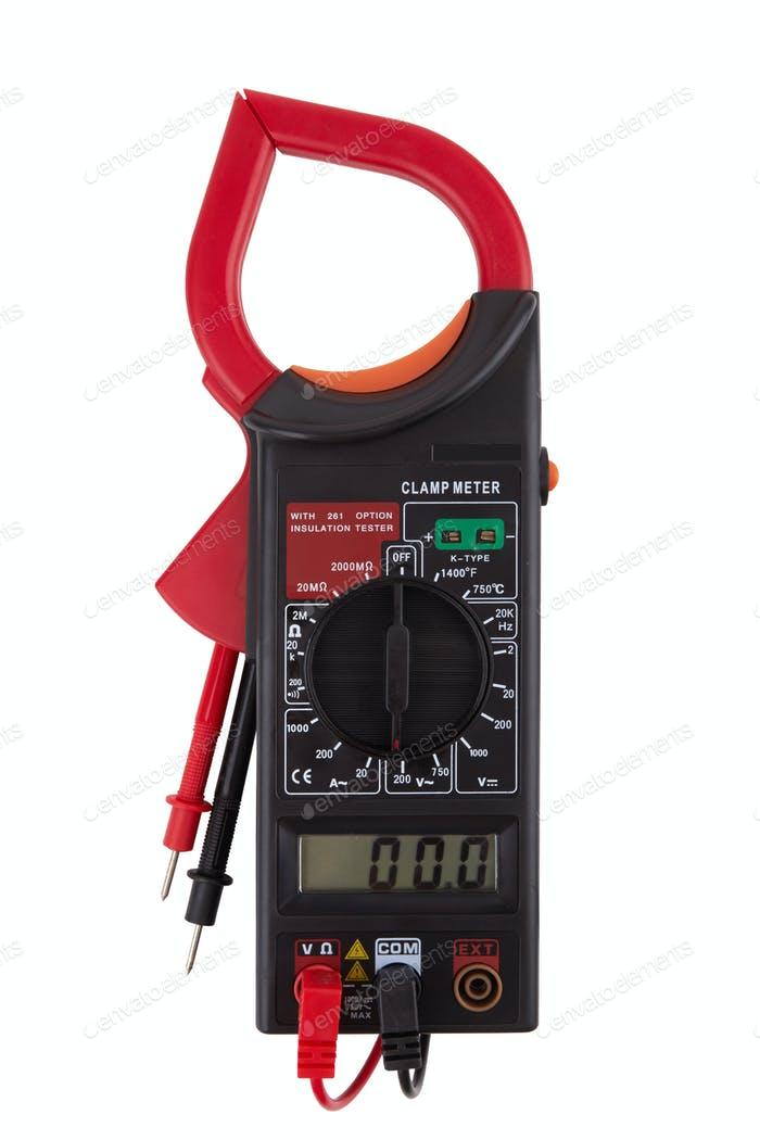 Digital multimeter isolated