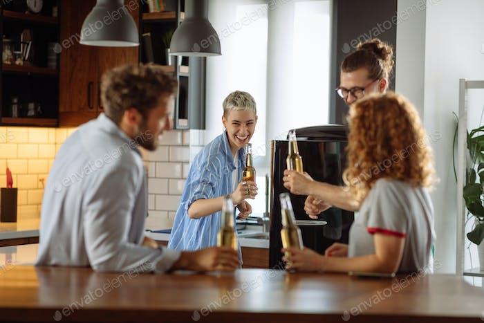Nothing brings people together like beer