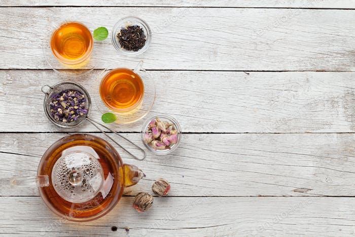 Herbal and fruit teas