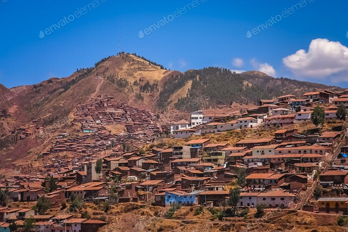 Rooftops of Cusco