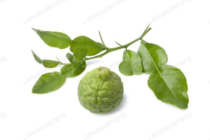 Kaffir lime and leaves