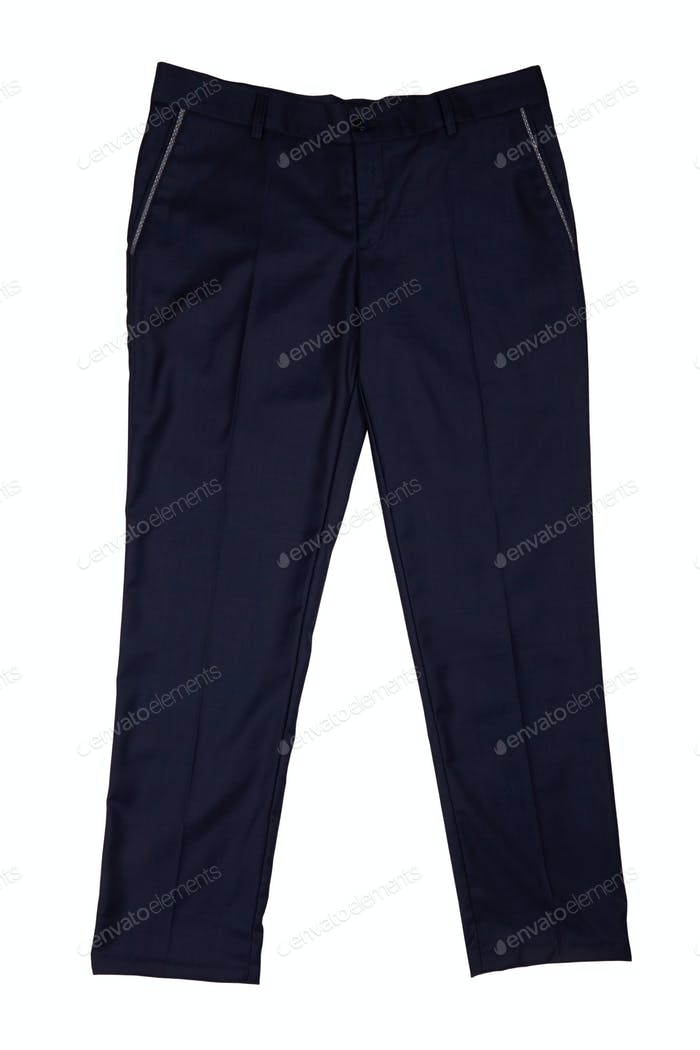 pants on a white