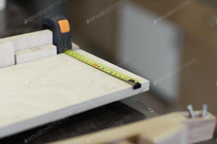 Плотницкая промышленность на заводе
