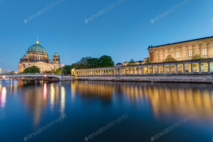 Museum Island and cathedral in Berlin