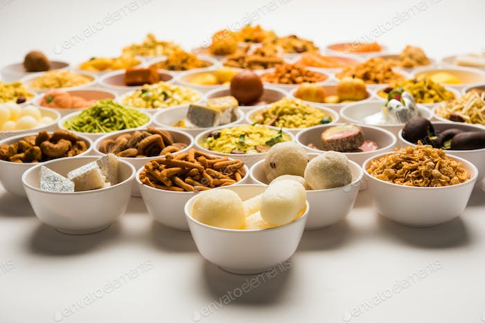 Indian sweets for Diwali