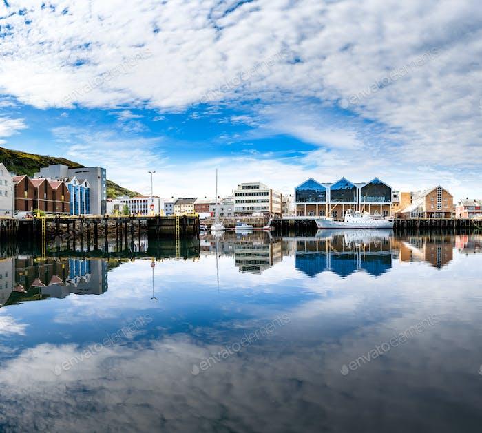Hammerfest City, Finnmark, Norwegen