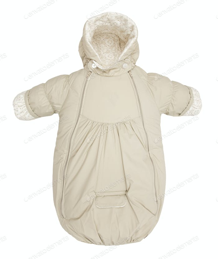 Baby snowsuit bag