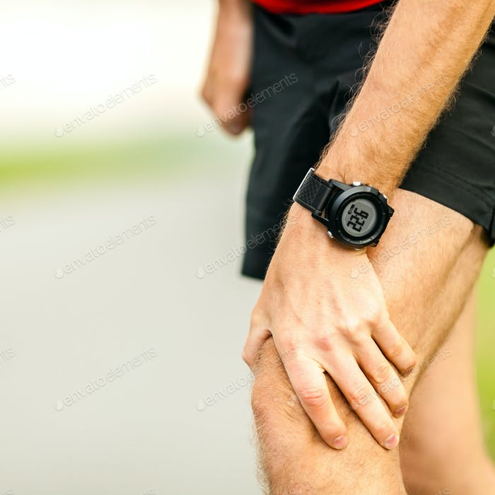 Knee pain running injury