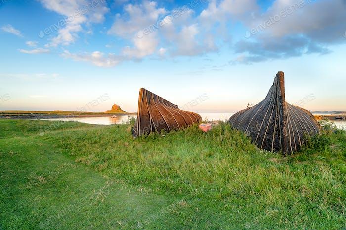 Lindisfarne Boats