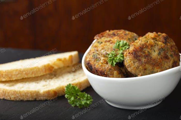 Chiftele - Romanina traditional meatballs