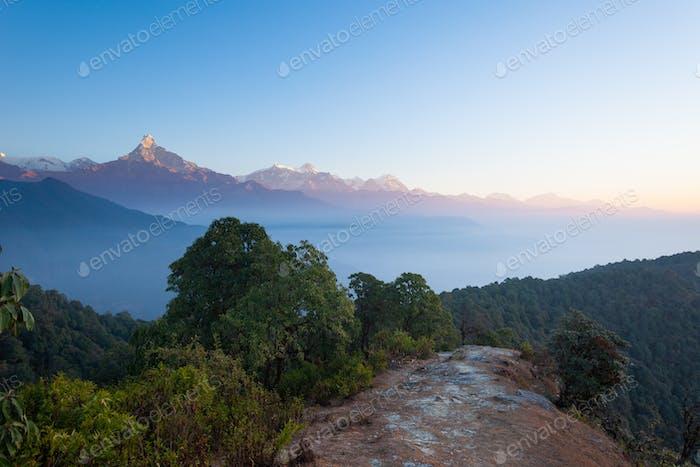 Annapurna hiking trail