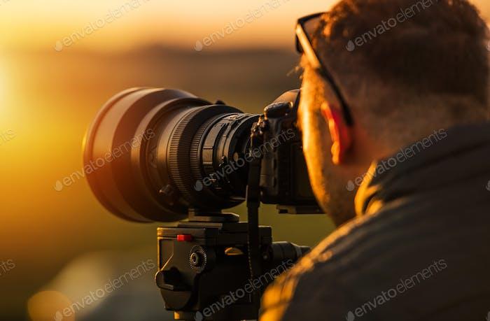 Fotografía en telephoto al aire libre