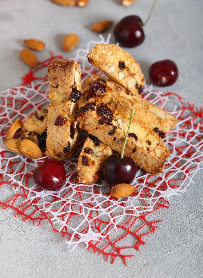 Cantuccini Biscotti Cookies