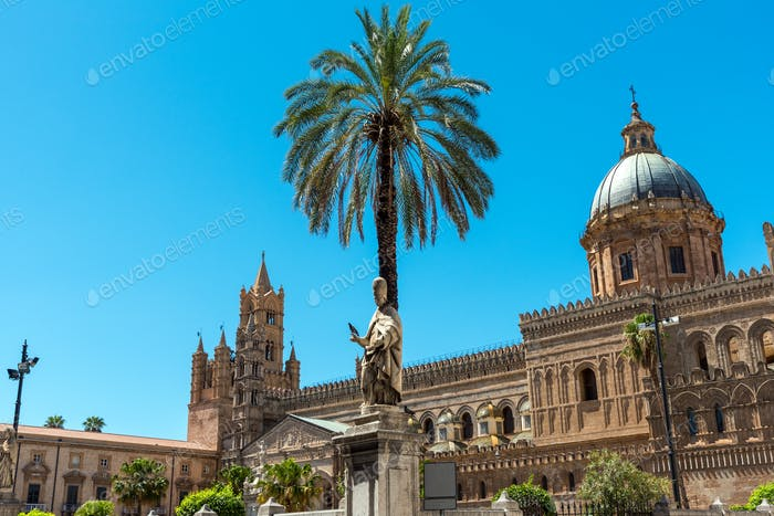 The big cathedral of Palermo