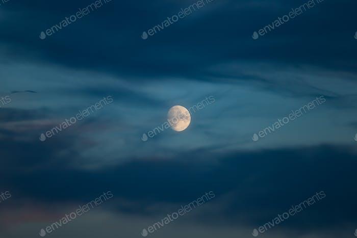 Daytime Full Moon