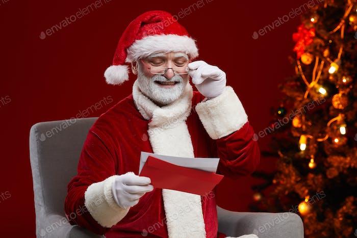 Santa receiving letters
