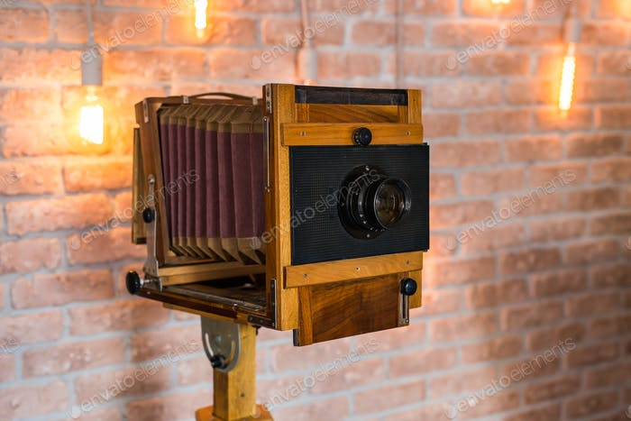 Antique Old photo Camera
