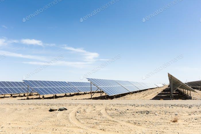 solar energy on gobi