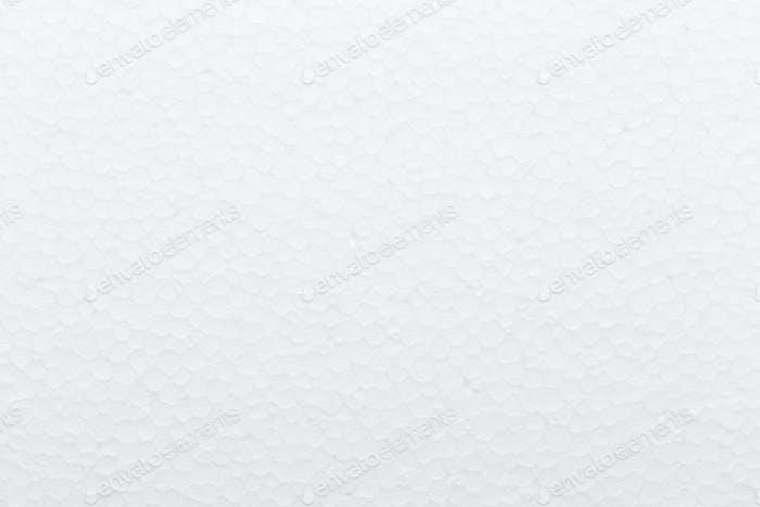 White foam board texture background