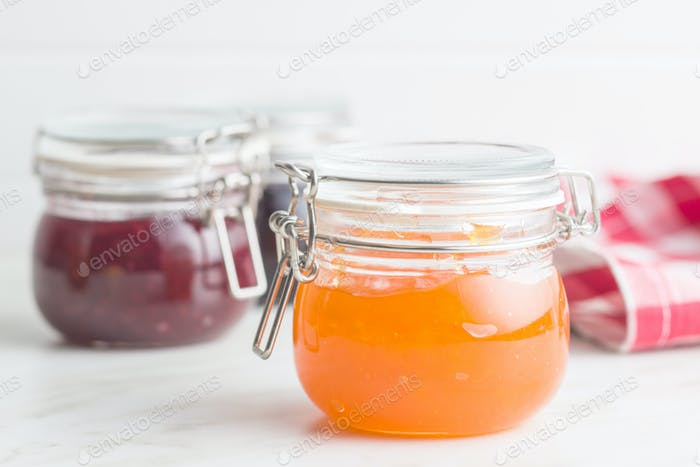 Fruity jam jelly.