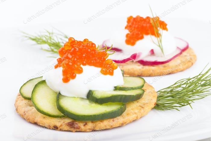 Caviar Appetiser